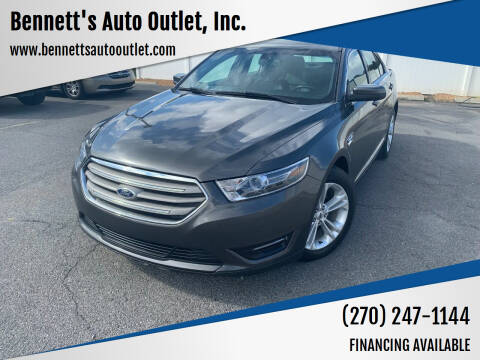 2015 Ford Taurus for sale at Bennett's Auto Outlet, Inc. in Mayfield KY