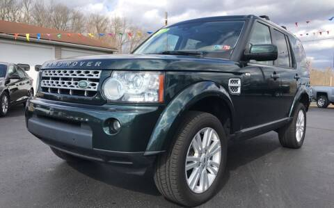 2012 Land Rover LR4 for sale at Baker Auto Sales in Northumberland PA