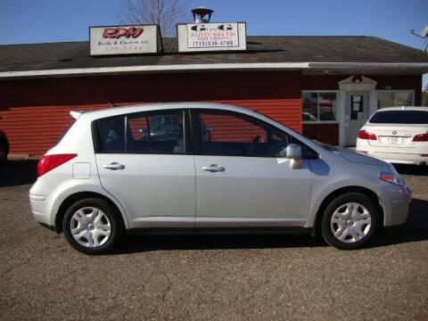 2009 Nissan Versa for sale at G and G AUTO SALES in Merrill WI