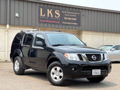 2012 Nissan Pathfinder for sale at LKS Auto Sales in Fresno CA