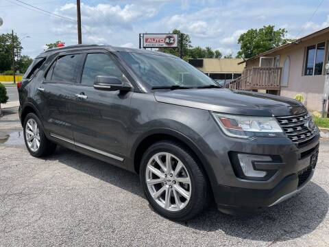 2016 Ford Explorer for sale at Auto A to Z / General McMullen in San Antonio TX