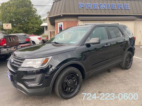 2016 Ford Explorer for sale at Premiere Auto Sales in Washington PA