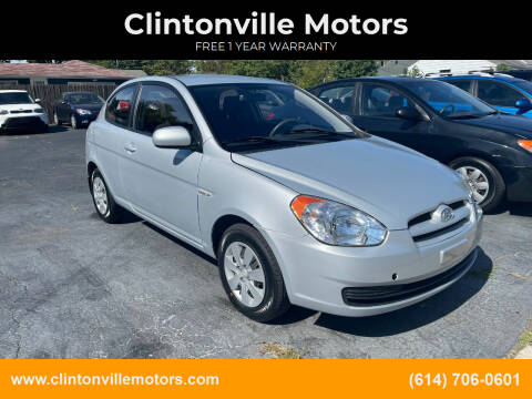 2010 Hyundai Accent for sale at Clintonville Motors in Columbus OH