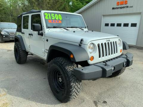 2013 Jeep Wrangler Unlimited for sale at SMS Motorsports LLC in Cortland NY