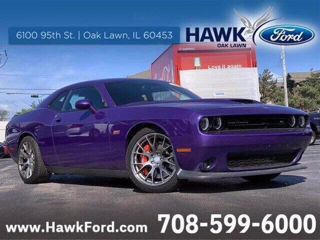 2016 Dodge Challenger for sale at Hawk Ford of Oak Lawn in Oak Lawn IL