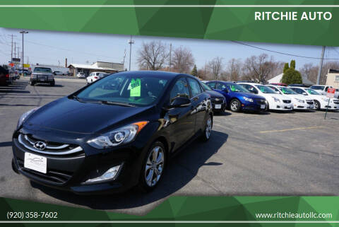2013 Hyundai Elantra GT for sale at Ritchie Auto in Appleton WI
