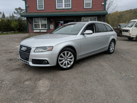 2012 Audi A4 for sale at Village Car Company in Hinesburg VT