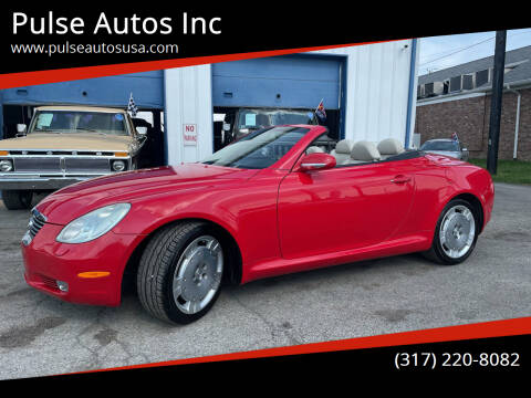 2003 Lexus SC 430 for sale at Pulse Autos Inc in Indianapolis IN