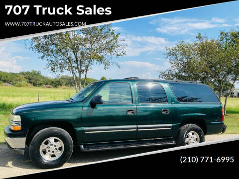 2002 Chevrolet Suburban for sale at 707 Truck Sales in San Antonio TX
