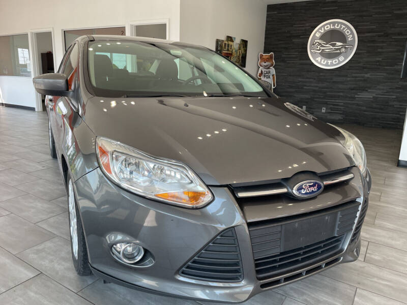 2012 Ford Focus for sale at Evolution Autos in Whiteland IN