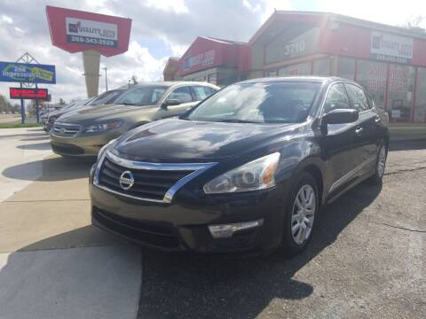 2015 Nissan Altima for sale at Quality Auto Today in Kalamazoo MI