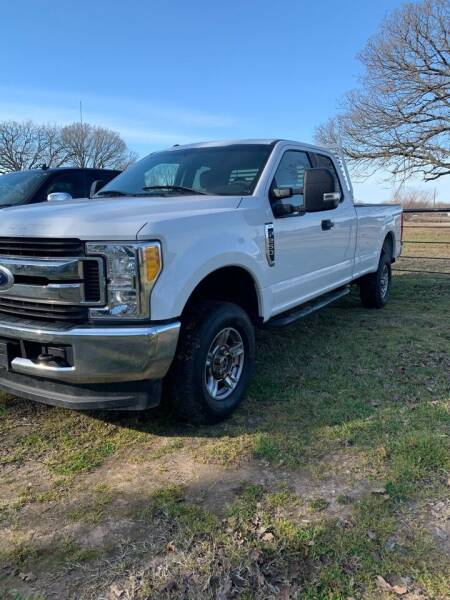 2017 Ford F-250 Super Duty for sale at BARROW MOTORS in Caddo Mills TX