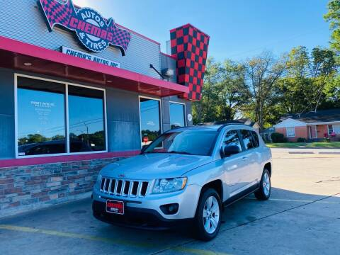 2011 Jeep Compass for sale at Chema's Autos & Tires in Tyler TX