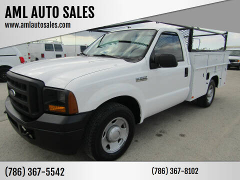 2006 Ford F-250 Super Duty for sale at AML AUTO SALES - Utility Trucks in Opa-Locka FL