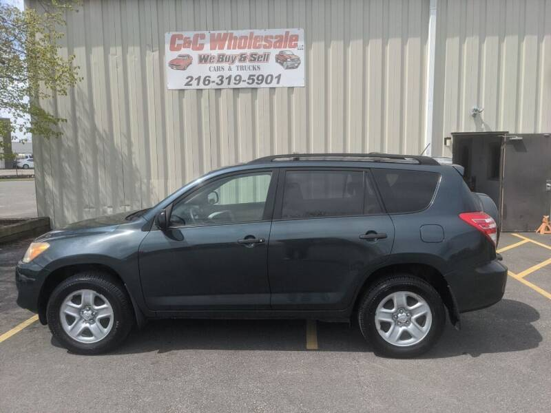 2010 Toyota RAV4 for sale at C & C Wholesale in Cleveland OH