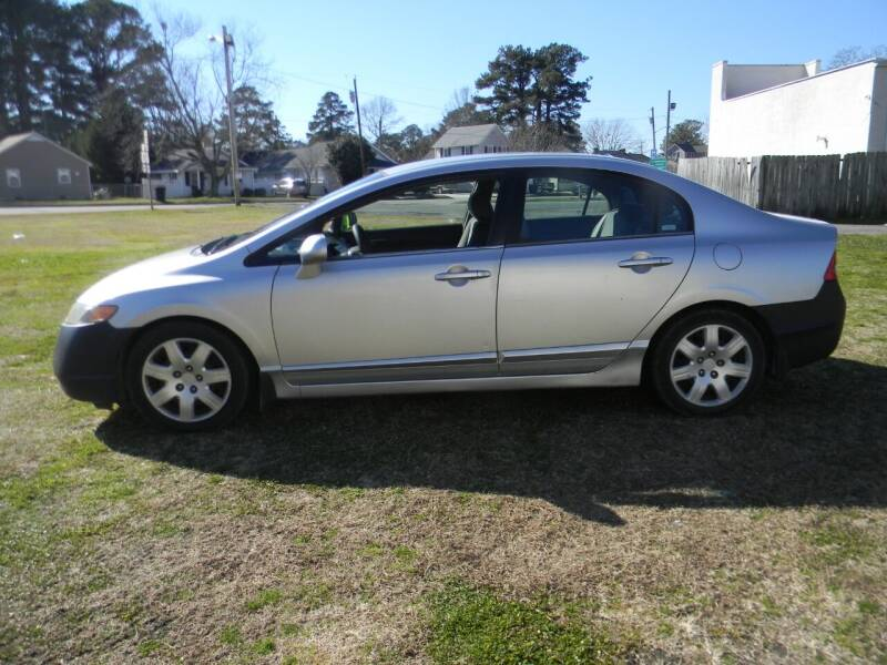 2006 Honda Civic for sale at SeaCrest Sales, LLC in Elizabeth City NC