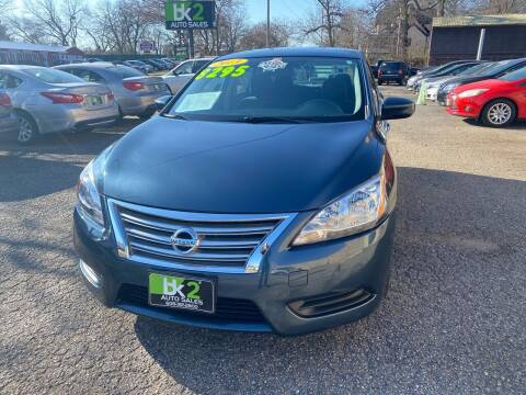 2013 Nissan Sentra for sale at BK2 Auto Sales in Beloit WI