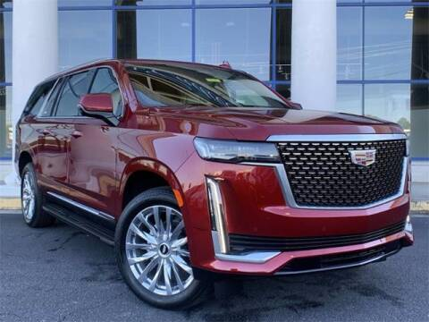 2021 Cadillac Escalade ESV for sale at Capital Cadillac of Atlanta New Cars in Smyrna GA
