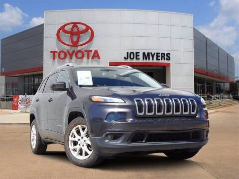 2017 Jeep Cherokee for sale at Joe Myers Toyota PreOwned in Houston TX