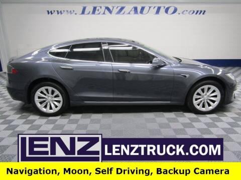 2017 Tesla Model S for sale at LENZ TRUCK CENTER in Fond Du Lac WI