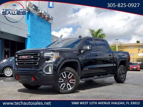2019 GMC Sierra 1500 for sale at Tech Auto Sales in Hialeah FL