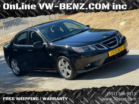 2008 Saab 9-3 for sale at OnLine VW-BENZ.COM Auto Group in Riverside CA