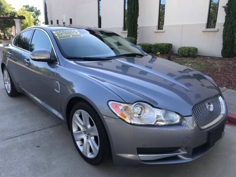 2009 Jaguar XF for sale at Auto King in Roseville CA
