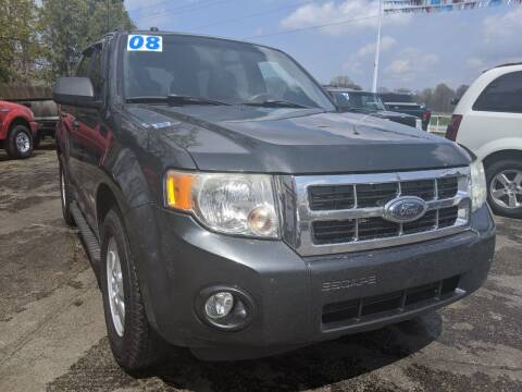 2008 Ford Escape for sale at GREAT DEALS ON WHEELS in Michigan City IN
