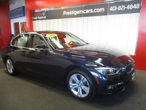 2016 BMW 3 Series for sale at Prestige Motorcars in Warwick RI