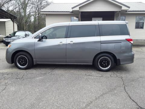 2014 Nissan Quest for sale at WALKER MOTORS LLC in Hattiesburg MS
