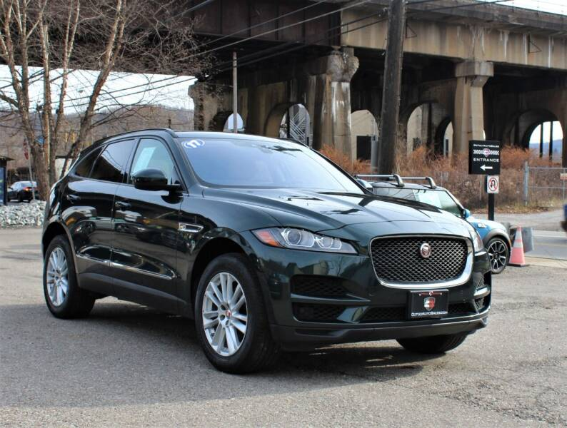 2017 Jaguar F-PACE for sale at Cutuly Auto Sales in Pittsburgh PA