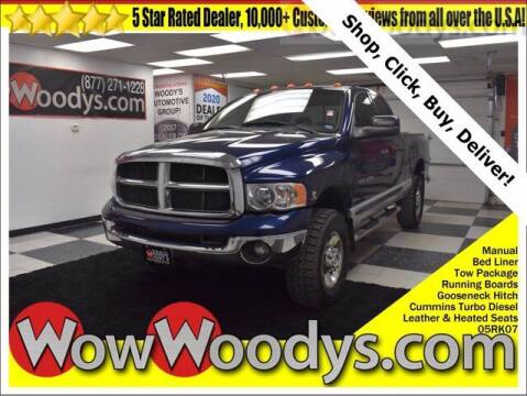 2005 Dodge Ram Pickup 3500 for sale at WOODY'S AUTOMOTIVE GROUP in Chillicothe MO