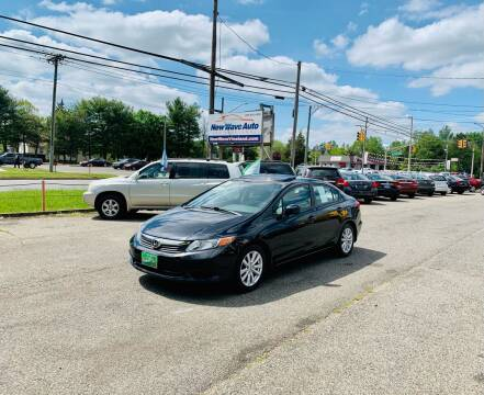 2012 Honda Civic for sale at New Wave Auto of Vineland in Vineland NJ
