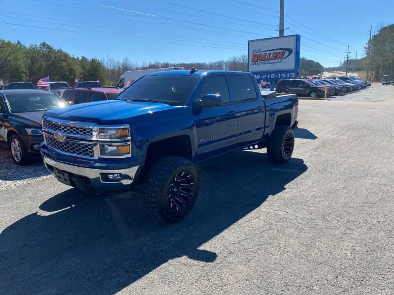 2015 Chevrolet Silverado 1500 for sale at Billy Ballew Motorsports in Dawsonville GA