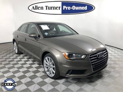 2016 Audi A3 for sale at Allen Turner Hyundai in Pensacola FL