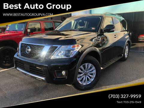 2020 Nissan Armada for sale at Best Auto Group in Chantilly VA