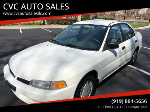 1998 Mitsubishi Mirage for sale at CVC AUTO SALES in Durham NC