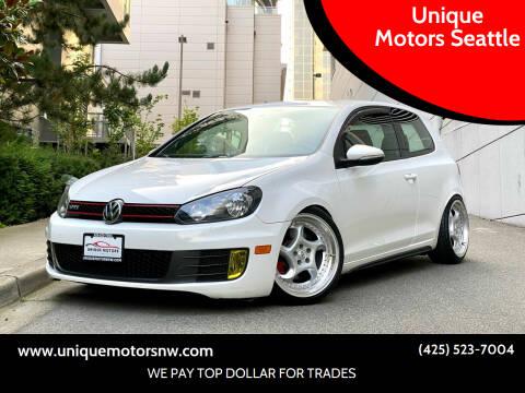 2013 Volkswagen GTI for sale at Unique Motors Seattle in Bellevue WA