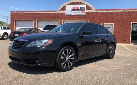 2014 Chrysler 200 for sale at Family Auto Finance OKC LLC in Oklahoma City OK