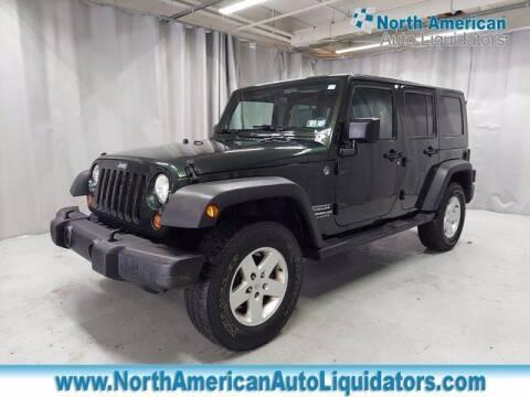 2010 Jeep Wrangler Unlimited for sale at North American Auto Liquidators in Essington PA