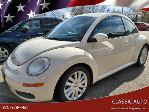 2008 Volkswagen New Beetle for sale at Classic Auto in Greeley CO