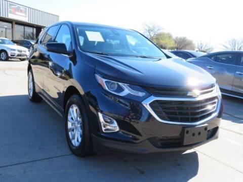 2020 Chevrolet Equinox for sale at KIAN MOTORS INC in Plano TX