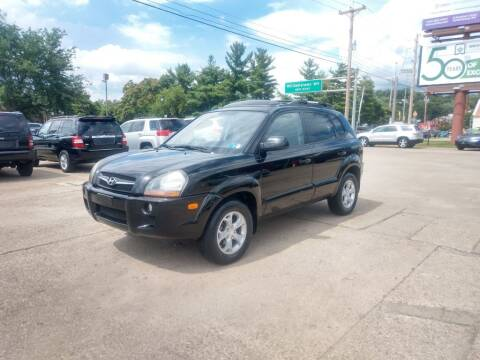 2009 Hyundai Tucson for sale at Wolfe Brothers Auto in Marietta OH