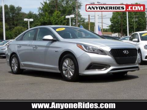 2017 Hyundai Sonata Hybrid for sale at ANYONERIDES.COM in Kingsville MD