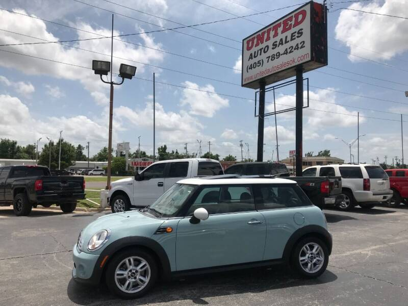 2012 MINI Cooper Hardtop for sale at United Auto Sales in Oklahoma City OK