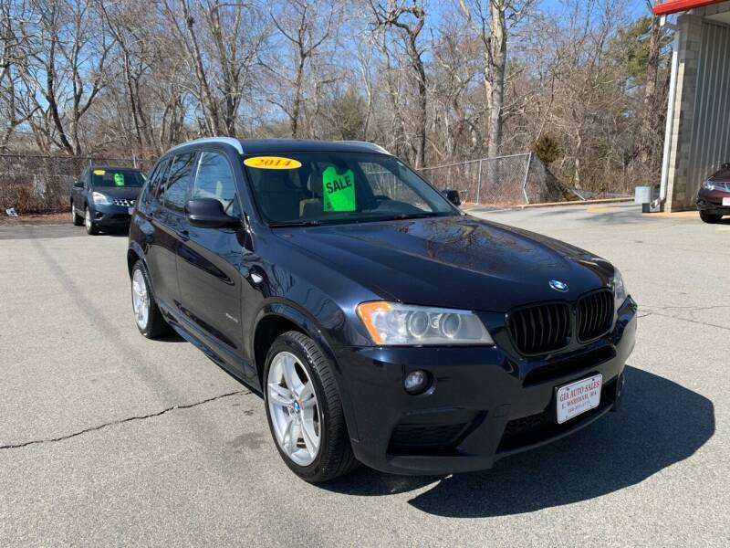 2014 BMW X3 for sale at Gia Auto Sales in East Wareham MA