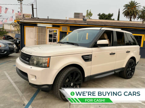 2010 Land Rover Range Rover Sport for sale at FJ Auto Sales North Hollywood in North Hollywood CA