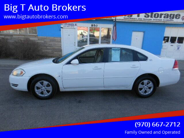 2007 Chevrolet Impala for sale at Big T Auto Brokers in Loveland CO