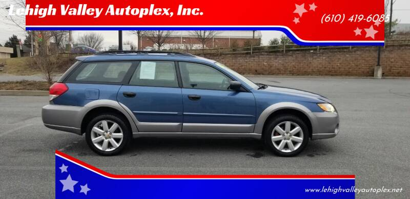 2008 Subaru Outback for sale at Lehigh Valley Autoplex, Inc. in Bethlehem PA
