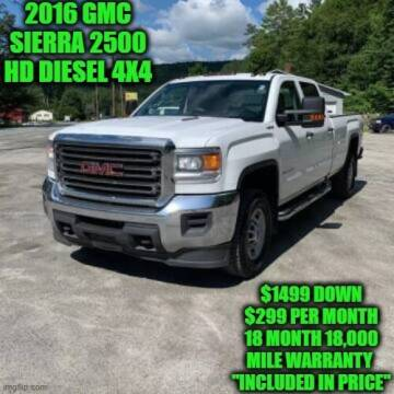 2016 GMC Sierra 2500HD for sale at D&D Auto Sales, LLC in Rowley MA